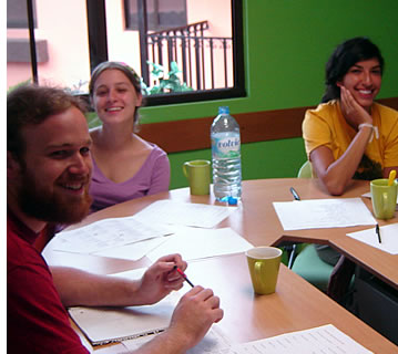 Habla Ya Students can choose the perfect Spanish Course for them